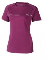 Wolf Camper Freedom T-shirt Purple