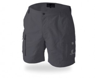 Wolf Camper Java Shorts Grey