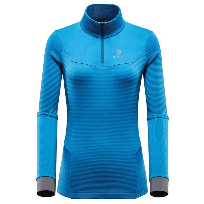 Priser på BlackYak Womens Carora L/S Shirt, L, LYONS BLUE
