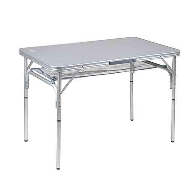 Priser på Campingbord Premium - Aluminiumsstel (100 x 60 cm)