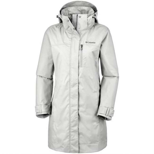 Priser på Columbia Hideaway Creek Jacket Womens, Flint Grey