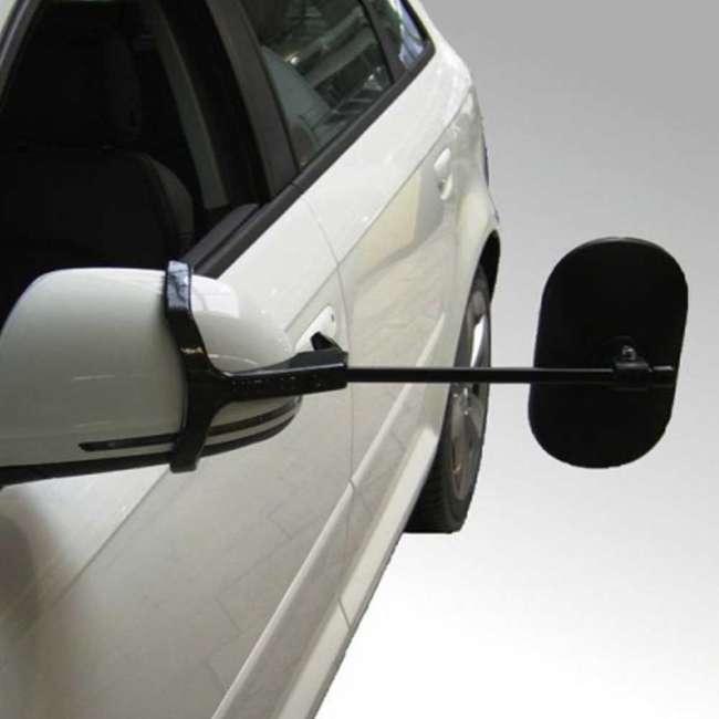 Priser på Emuk campingspejle Ford Kuga (med indbygget blink) (2008 - ) inkl. 2 stk. XL spejlhoveder med konveks spejlglas