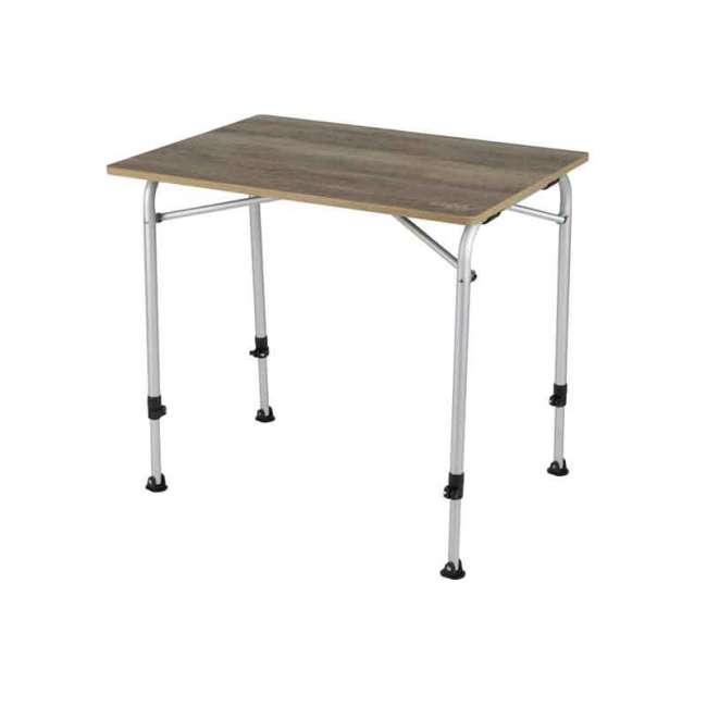 Priser på Feather campingbord med bordplade i trælook 60 x 80 cm