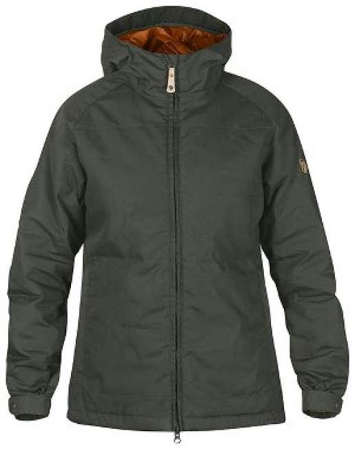 Priser på Fjällräven Övik Padded Jacket W. Mountain Grey