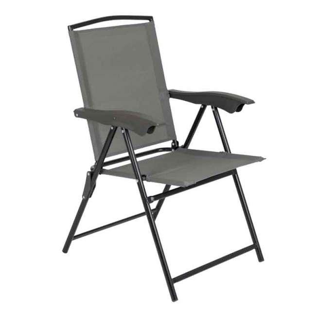 Priser på Foldbar campingstol med 4 positioner