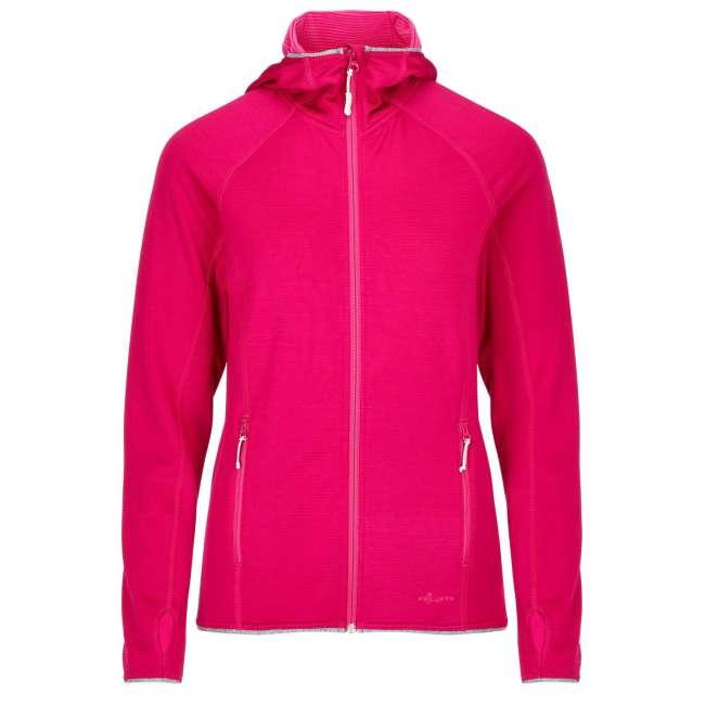 Priser på Frilufts Ws Ouse Hooded Fleece Jacket, S, RED BUD