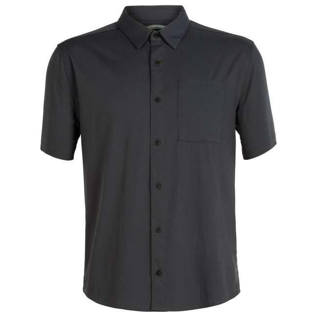 Priser på Icebreaker Mens Compass S/S Shirt, S, MONSOON