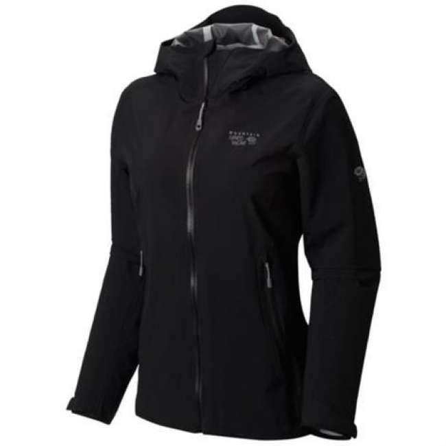 Priser på Mountain Hardwear Womens Stretch Ozonic Jacket, Black