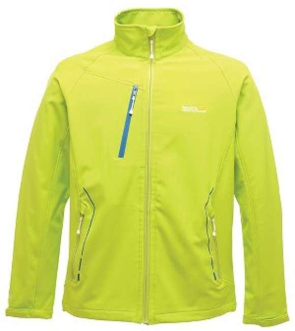 Priser på Regatta Nielson Softshell jakke Lime Green