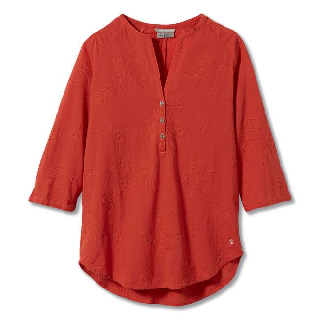 Priser på Royal Robbins Womens Oasis Tunic II 3/4, XL, MANGO