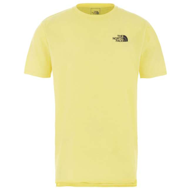 Priser på The North Face Ms North Dome Active S/S, L, TNF LEMON HEATHER